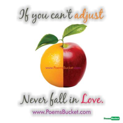 If You Can't Adjust Never Fall - Sad Quotes