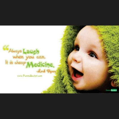 Always Laugh When You Can It - Smile Quotes