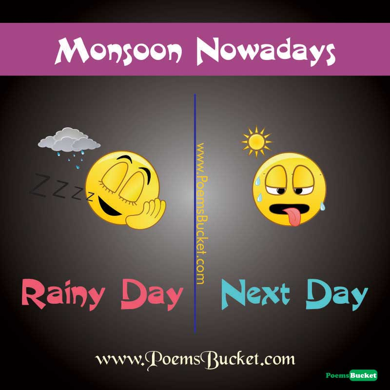 Monsoon Now A Days Image - English Jokes