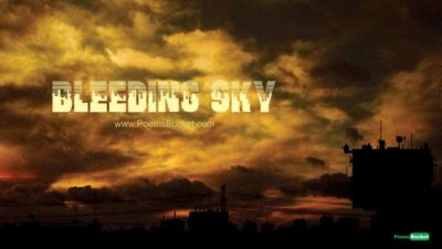 Swifts And Bleeding Sky - Sad Patriotic Poems