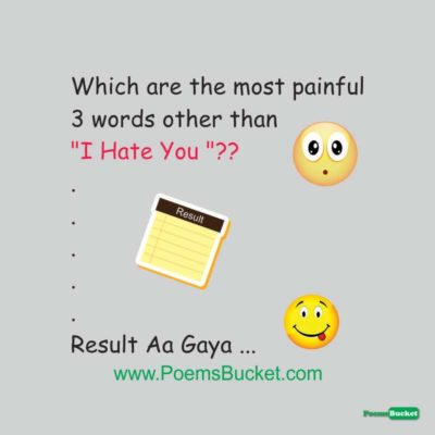Most Painful 3 Words Other - Hindi Jokes
