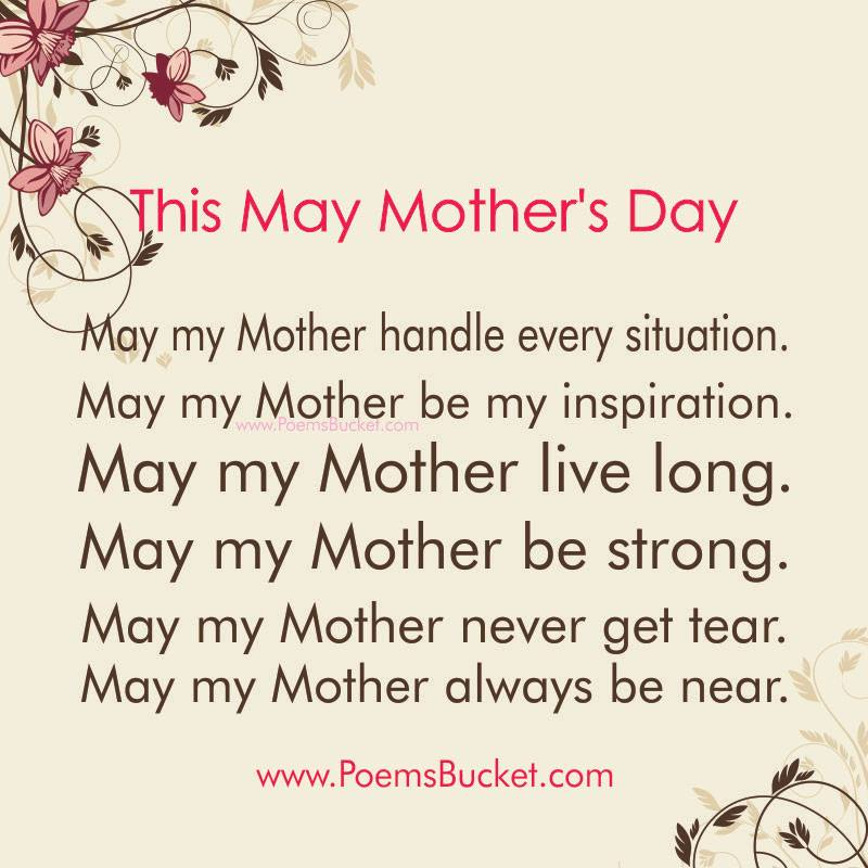 This May Mother's Day May My Mother - Wishes