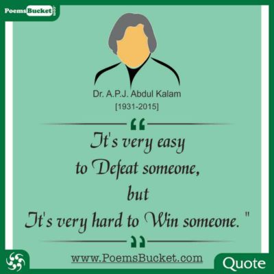 15 Top 21 Inspirational Quotes By Dr. APJ Abdul Kalam