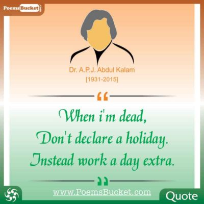 21 Top 21 Inspirational Quotes By Dr. APJ Abdul Kalam