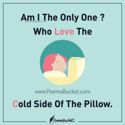 Am I The Only One Who Love The Cold Side Of