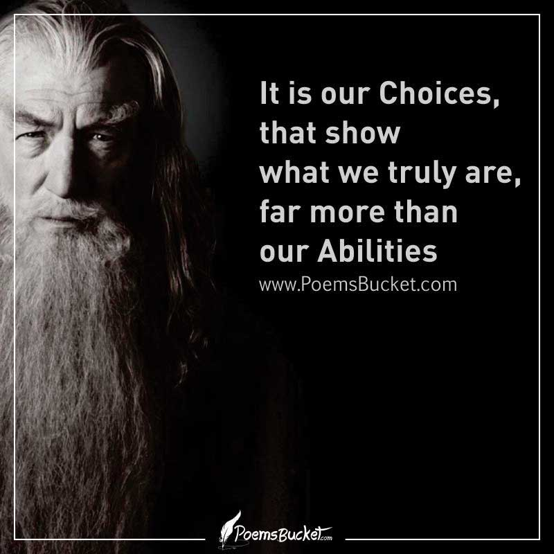 It Is Our Choices That Show What We Truly Are - J.K. Rowling Quote