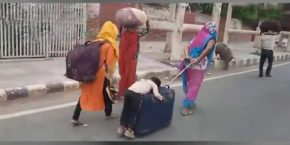 Tej Dhoop Mein Tadapte Bhookhe Pet Ko - Lockdown Migrants Majdoor Hindi Shayari